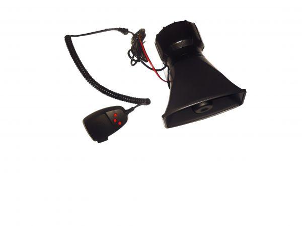 Трехтональная СГУ с микрофоном ЭС 360-80Ватт(ES 360)