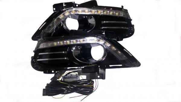 Рамки под противотуманные фары с ходовыми огнями Форд Мондео 2013