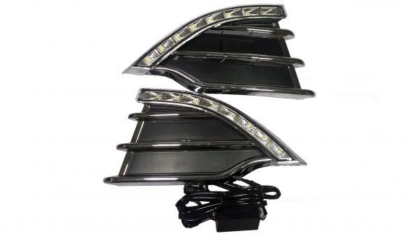 Рамки с ходовыми огнями Форд Куга 2013