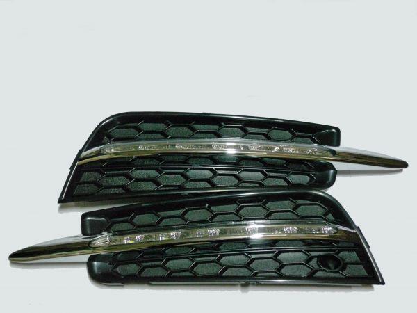 Рамки- заглушки с ходовыми огнями Шевроле Круз 092-27-2